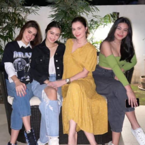 Sunshine Cruz has three daughters; Angelina, Samantha and Angel Franchesca with ex husband Cesar Montano