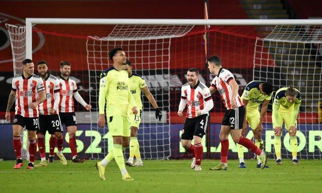 Newcastle's struggles continued at Sheffield United