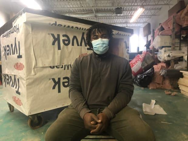 Khaleel Seivwright, a Toronto carpenter, says: 'The City of Toronto should drop its application against me and focus its resources and efforts on what matters — getting people safely housed.'