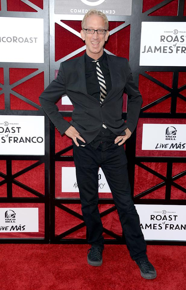 "Andy Dick attends ""The Comedy Central Roast of James Franco"" at Culver Studios on August 25, 2013 in Culver City, California."