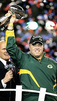 Mike McCarthy, who grew up in Pittsburgh and is married to a Green Bay native, coached the Packers to their first Super Bowl title since the 1996 season