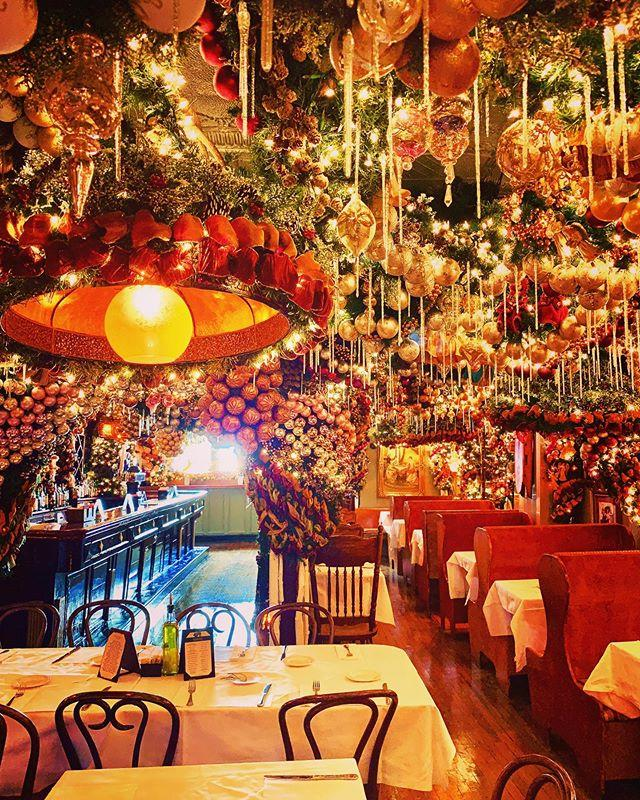 """<p>What list of best Christmas bars in New York would be complete without Rolf's? Stepping into Rolf's is what stepping into Santa's workshop probably feels like, but with a bar. Greenery studded with ornaments covers every available inch of ceiling space and lights softly illuminate the entire place. This festive German restaurant and bar keeps the holiday spirit going year-round, too, so feel free to stop by when you need a little Christmas in July.</p><p><a class=""""body-btn-link"""" href=""""https://go.redirectingat.com?id=74968X1596630&url=https%3A%2F%2Fwww.tripadvisor.com%2FRestaurant_Review-g60763-d424204-Reviews-Rolf_s_Bar_Restaurant-New_York_City_New_York.html&sref=http%3A%2F%2Fwww.delish.com%2Frestaurants%2Fg29814168%2Fbest-christmas-bars-in-nyc%2F"""" target=""""_blank"""">PLAN A TRIP</a> <em>281 3rd Ave, New York, NY 10010</em></p><p><a href=""""https://www.instagram.com/p/B1EHvUXBAZr"""">See the original post on Instagram</a></p><p><a href=""""https://www.instagram.com/p/B1EHvUXBAZr"""">See the original post on Instagram</a></p><p><a href=""""https://www.instagram.com/p/B1EHvUXBAZr"""">See the original post on Instagram</a></p><p><a href=""""https://www.instagram.com/p/B1EHvUXBAZr"""">See the original post on Instagram</a></p><p><a href=""""https://www.instagram.com/p/B1EHvUXBAZr"""">See the original post on Instagram</a></p><p><a href=""""https://www.instagram.com/p/B1EHvUXBAZr"""">See the original post on Instagram</a></p><p><a href=""""https://www.instagram.com/p/B1EHvUXBAZr"""">See the original post on Instagram</a></p><p><a href=""""https://www.instagram.com/p/B1EHvUXBAZr"""">See the original post on Instagram</a></p><p><a href=""""https://www.instagram.com/p/B1EHvUXBAZr"""">See the original post on Instagram</a></p><p><a href=""""https://www.instagram.com/p/B1EHvUXBAZr"""">See the original post on Instagram</a></p><p><a href=""""https://www.instagram.com/p/B1EHvUXBAZr"""">See the original post on Instagram</a></p>"""
