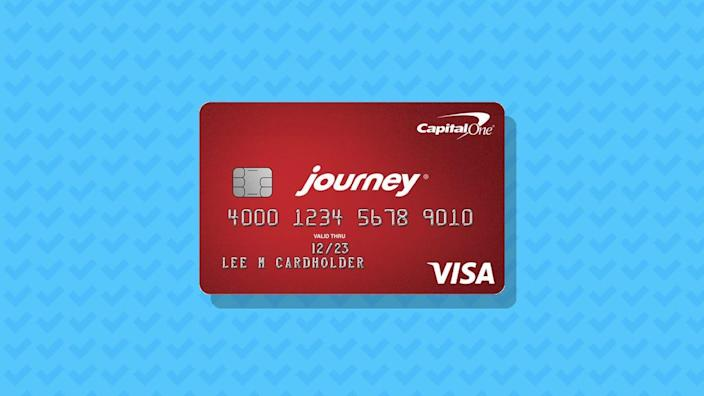 Capital One Journey Student Rewards
