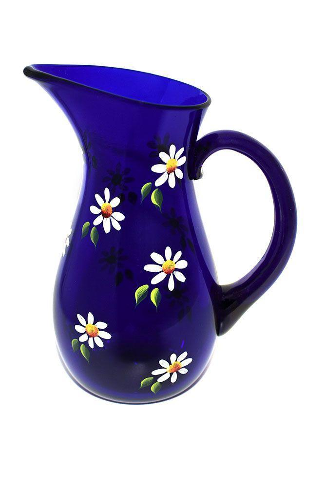 "<p><a class=""link rapid-noclick-resp"" href=""https://petrapalumbo.com/product/daisy-cobalt-blue-milk-jug-small/"" rel=""nofollow noopener"" target=""_blank"" data-ylk=""slk:SHOP NOW"">SHOP NOW</a></p><p>Based in the Scottish Highlands, Petra Palumbo is a sustainable homeware brand known for its beautiful glasses and jugs. We love this hand-painted, hand-blown daisy design and its joyful, spring-like appeal.</p><p>Blue jug, £120, <a href=""https://petrapalumbo.com/product/daisy-cobalt-blue-jug-large/"" rel=""nofollow noopener"" target=""_blank"" data-ylk=""slk:Petra Palumbo"" class=""link rapid-noclick-resp"">Petra Palumbo</a></p>"