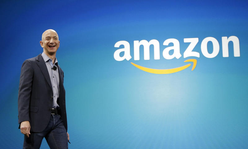 Amazon CEO Jeff Bezos said Prime video has been a major growth area (AP Photo/Ted S. Warren)
