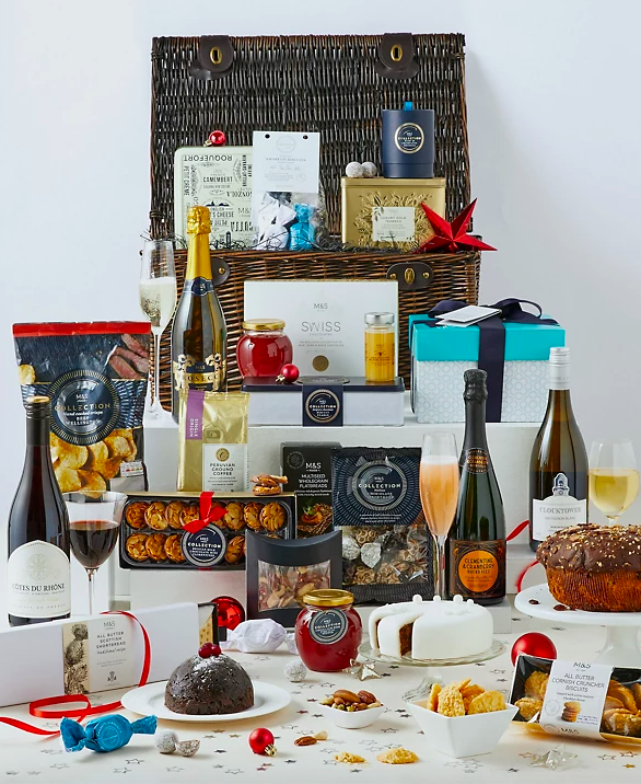 Collection Burlington Luxury Christmas Hamper. (Marks & Spencer)