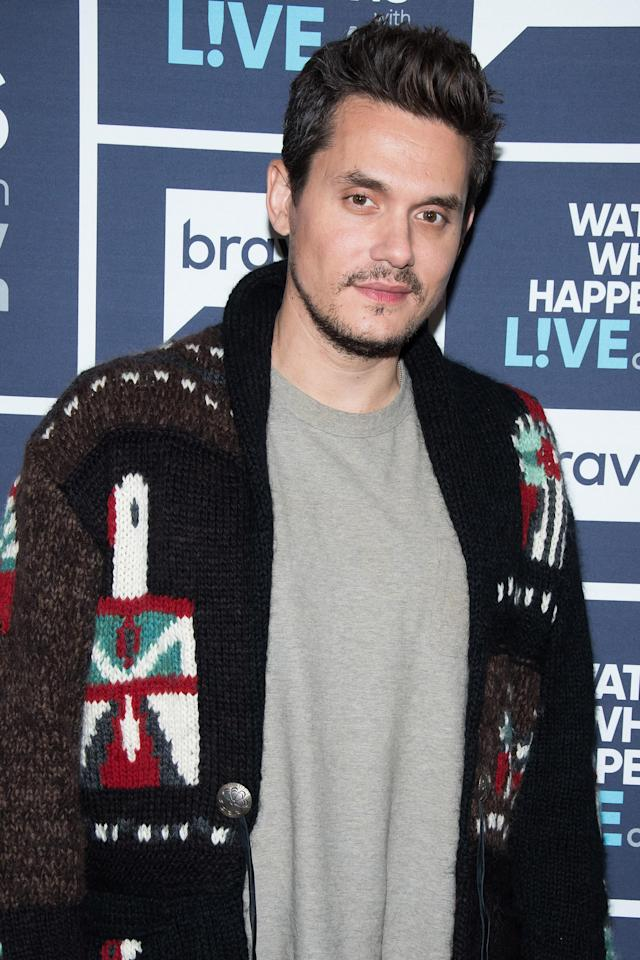John Mayer is poking fun at celebs and their private planes. (Photo: Charles Sykes/Bravo/NBCU Photo Bank)