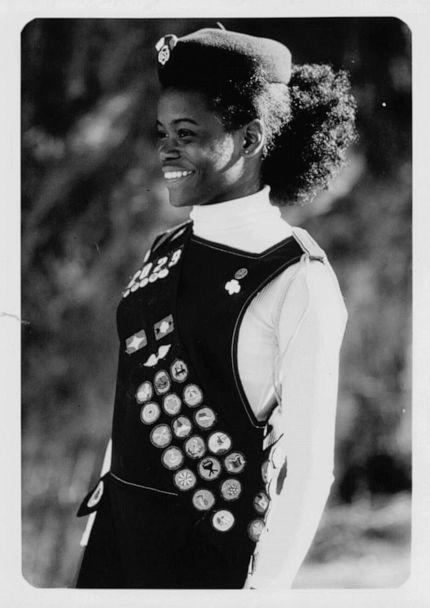 PHOTO: A 1970s era Girl Scout uniform is shown in an undated photo released by the Girl Scouts of the USA, Aug. 25, 2020. (Girl Scouts of the USA)