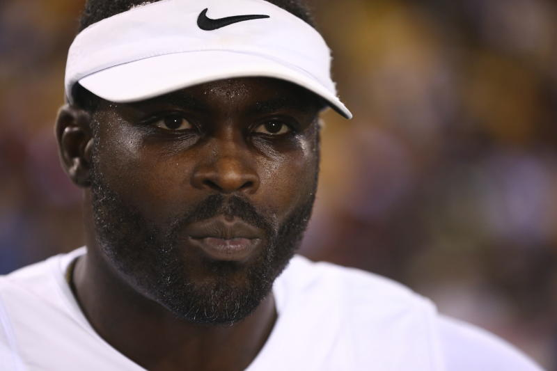 Michael Vick's story will be told on an ESPN documentary. (Kevin D. Liles/AP Images for American Flag Football League)