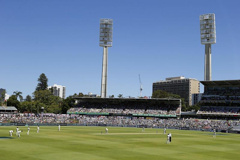 The allegations were made just before the start of play in Perth: PA