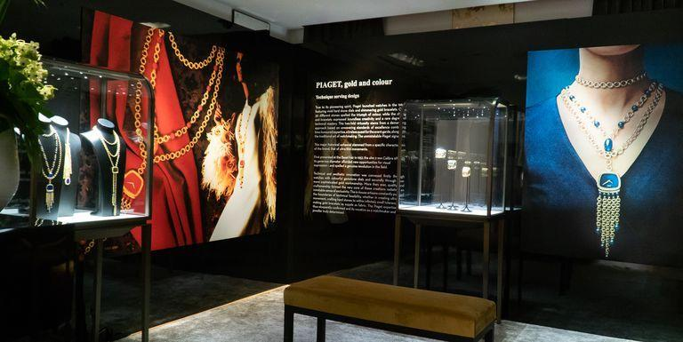 """<p>Piaget, the historic jewelry and watch house that counts Jackie Kennedy Onassis and Elizabeth Taylor among their famous fans, is opening a new exhibition at their Beverly Hills boutique showcasing priceless pieces from their private archives. The Heritage Exhibition, which will open on September 10, features items from the 1960s onward, including the iconic Necklace Watch worn by Anjelica Huston for a photo shoot with Richard Avedon in 1970.</p><p></p><p>Take a peek at the exhibition here, and see the stunning collection yourself <a href=""""https://www.piaget.com/"""" target=""""_blank"""">at Piaget Beverly Hills</a> through September 30.</p>"""