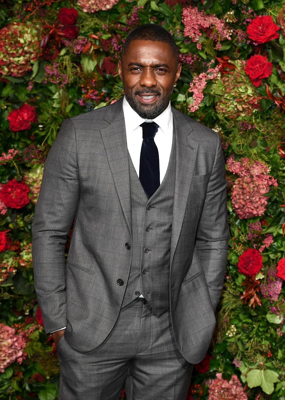 Idris Elba at the 2018 Evening Standard Theatre Awards (Getty Images)