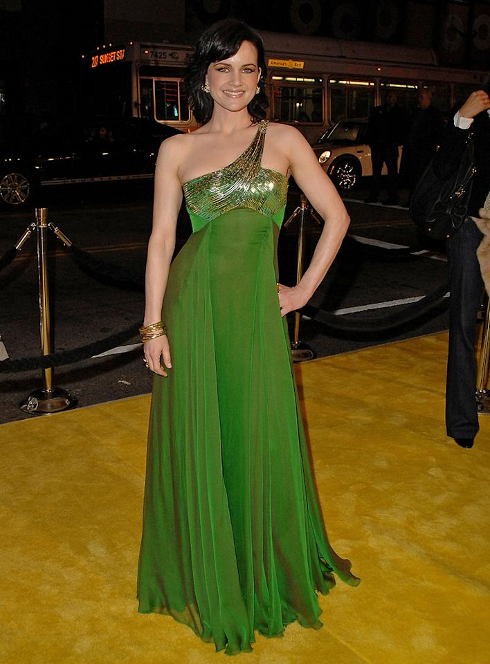 """<a href=""""http://movies.yahoo.com/movie/contributor/1800024683"""">Carla Gugino</a> at the Los Angeles premiere of <a href=""""http://movies.yahoo.com/movie/1808406490/info"""">Watchmen</a> - 03/02/2009"""