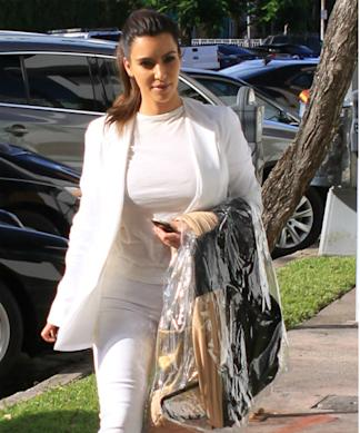 Kim Kardashian Posts Pictures Of White Wedding Dress?