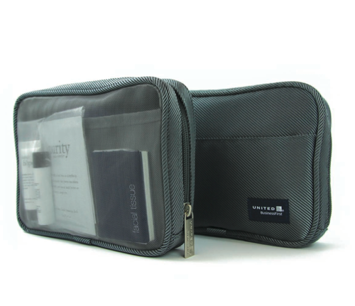 United Airlines Business Class Amenity Kit
