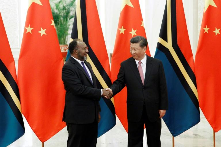 Vanuatu's Prime Minister Charlot Salwai was hosted by Chinese President Xi Jinping in Beijing in May