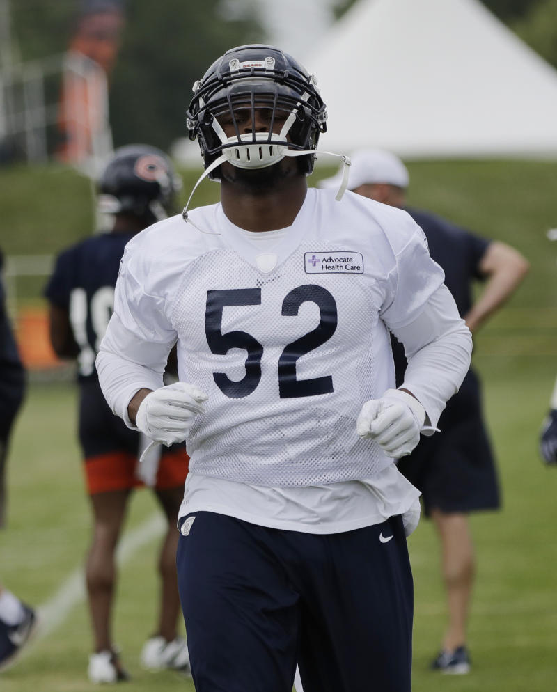 new arrivals 7eb99 cd7f4 Khalil Mack has more adjusting to do in Year 2 with Bears