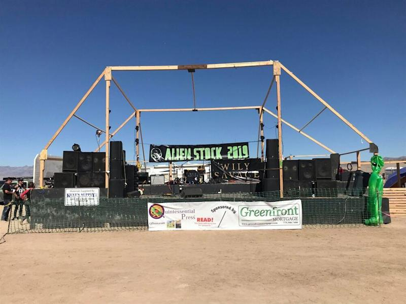 The Main Stage at Alienstock. | Jordan Runtagh