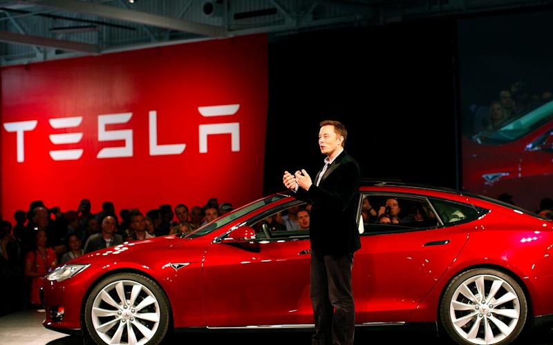The number of investors betting against Tesla has fallen