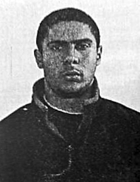 A grainy picture of Mehdi Nemmouche, the suspect who allegedly gunned down four people at the Jewish Museum in Brussels in May 2014