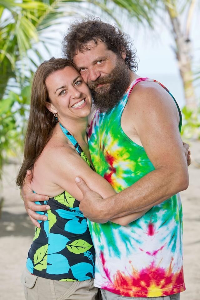 """Married couple Rupert Boneham and Laura Boneham will be among the castaways competing on """"Survivor: Blood vs. Water,"""" when the Emmy Award-winning series returns for Season 27."""