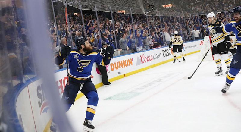 Ryan O'Reilly inspired the Blues' massive Game 4 win. (Getty)