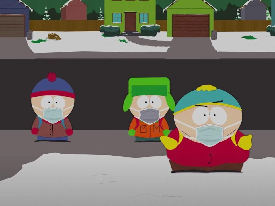 South Park's vaccination special will air next week (YouTube/ South ParQ Studios)