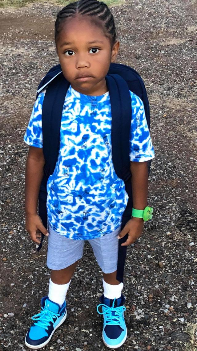 A woman in Texas is opposing her 4-year-old grandson's school dress code. (Photo: Randi Woodley)