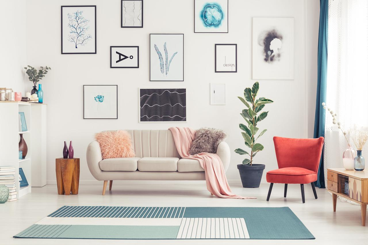 """<p>Nothing makes your home feel more like <em>your</em> home than filling it with decor that suits and <a href=""""https://www.housebeautiful.com/room-decorating/home-library-office/g22813413/cubicle-decor-ideas/"""" target=""""_blank"""">represents your personality</a>, which is why <a href=""""https://www.housebeautiful.com/room-decorating/bedrooms/g23850388/bedroom-wall-decor/"""" target=""""_blank"""">wall art</a> is so important. Boring white walls? They don't exactly give you that lived-in, homey vibe. But art that fits your aesthetic and interests—and maybe even makes you smile—can make all the difference in the world. The trick is <em>finding</em> art that suits you, and sometimes the best way to find that specific thing you're looking for is to scour the internet. <em></em></p><p>Whether you're looking for ultra-affordable prints you can frame yourself or high-end artwork from famous (and emerging!) artists, these are some of the best places for art-<a href=""""https://www.housebeautiful.com/shopping/furniture/g22548814/best-online-furniture-stores-websites/"""" target=""""_blank"""">shopping online</a>. Get ready to browse for hours, because these sites are <em>full</em> of options. Save all the wall space you can for these pieces—once you see the art that awaits you, you're going to need it.  <em></em></p>"""