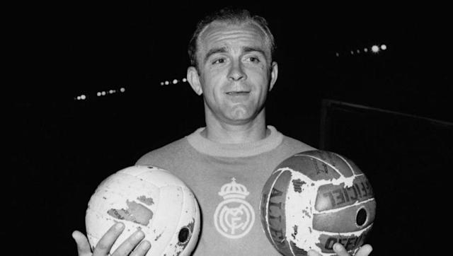 <p>Although the subject is much debated and filled with conspiracy theories involving infamous military dictator General Franco, it was Barcelona and not Real Madrid that appeared set to land a coveted South American striker by the name of Alfredo Di Stefano in the early 1950s.</p> <br><p>The Catalans paid the sum of 4.5m pesetas to River Plate, whom they believed own the player's registration, and even brought him over to Europe in 1953 where it is thought that Di Stefano played at least one pre-season game for the club.</p> <br><p>The move was ratified by FIFA but rejected by the Spanish federation because of a messy ownership situation that had actually seen the player turn out for Colombian outfit Millonarios for four years. When Real came on the scene, Barça eventually backed down, some believe as a result of shady interference from anti-Catalan Franco, and the rest is history.</p>