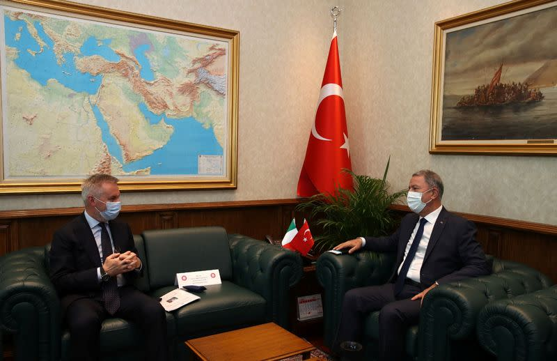 Turkey, Italy agree Libya needs political solution - Turkish defence ministry