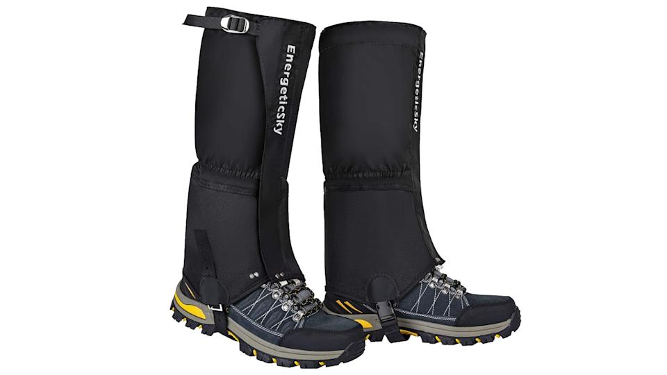EnergeticSky Leg Gaiters Waterproof Snow Boot Gaiters for Men and Women. (Image via Amazon)