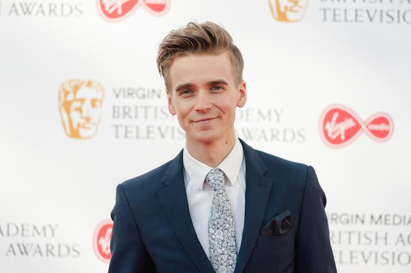 LONDON, UNITED KINGDOM - MAY 12: Joe Sugg attends the Virgin Media British Academy Television Awards ceremony at the Royal Festival Hall on 12 May, 2019 in London, England. (Photo credit should read Wiktor Szymanowicz / Barcroft Media via Getty Images)