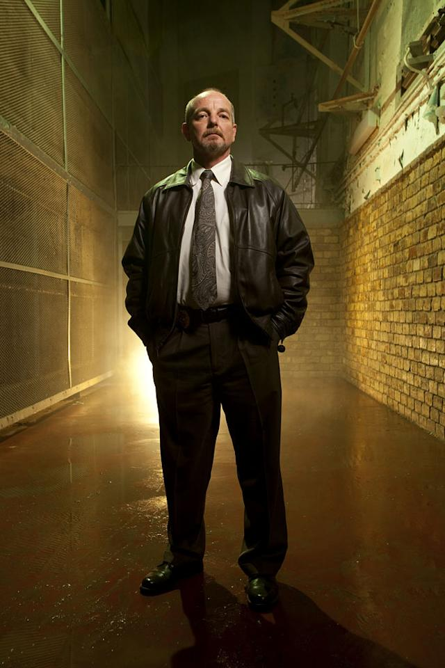 """Special Agent Mike Allison in """"The Squad: Prison Police."""""""