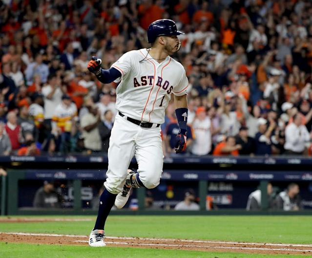 Carlos Correa is poised to make 2019 a bounce-back season. (AP Photo/David J. Phillip)