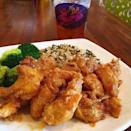 """<p>Another popular Alabama establishment, Yo Mama's is nestled in the busy downtown area of Birmingham. Delivering made-from-scratch home cooked meals, this restaurant has become a <a href=""""https://www.yelp.com/biz/yo-mamas-birmingham-2?osq=Yo+Mamas"""" rel=""""nofollow noopener"""" target=""""_blank"""" data-ylk=""""slk:must-try stop"""" class=""""link rapid-noclick-resp"""">must-try stop</a> for out-of-town travelers. Featuring golden crispy fried chicken, flavorful shrimp and grits, unforgettable fried Oreos, and so much more, it's clear that Yo Mama's is here to stay. (And they even have gluten free options, too!)</p><p><a href=""""https://www.instagram.com/p/CI5rbUXh3WV/?igshid=100jg5i8iy5td"""" rel=""""nofollow noopener"""" target=""""_blank"""" data-ylk=""""slk:See the original post on Instagram"""" class=""""link rapid-noclick-resp"""">See the original post on Instagram</a></p>"""
