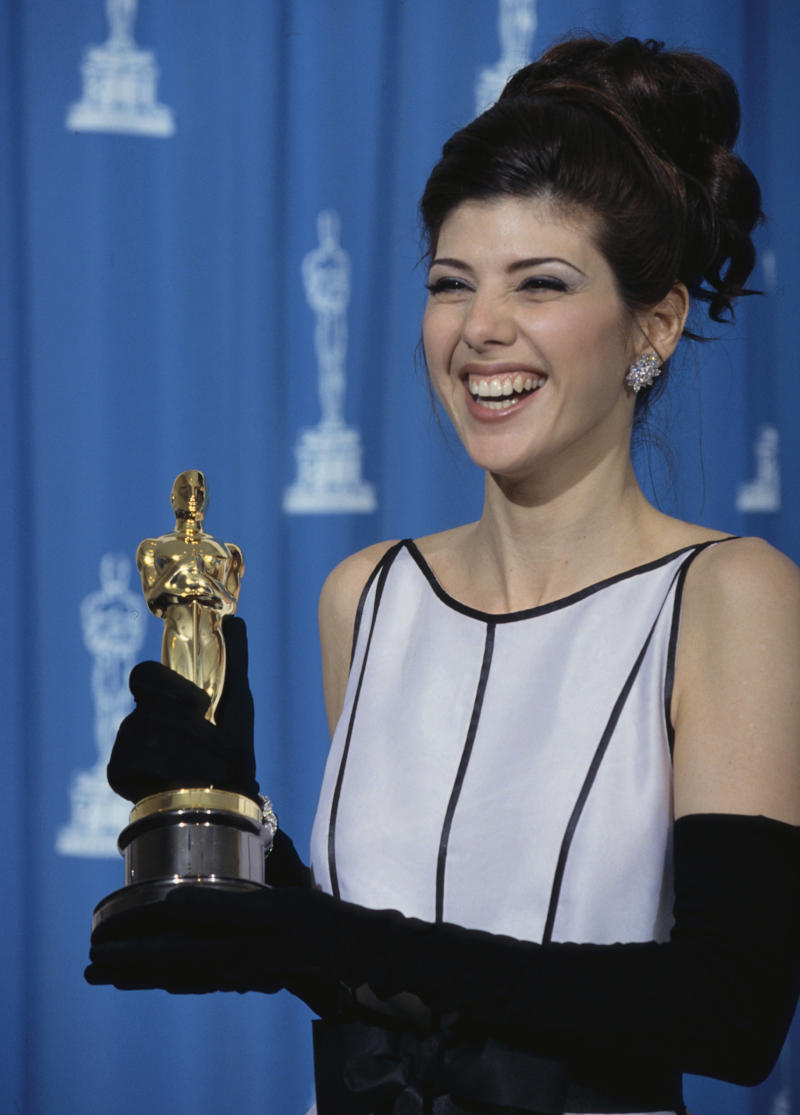 Marisa Tomei no Oscar de 1992 (Foto: Steve Starr/Corbis via Getty Images)