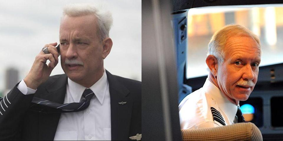 <p>Who else would you trust to play national hero Sully Sullenberger in a film about that faithful flight? Tom Hanks handled the role with perfection—and grew out a flawless mustache for it. </p>