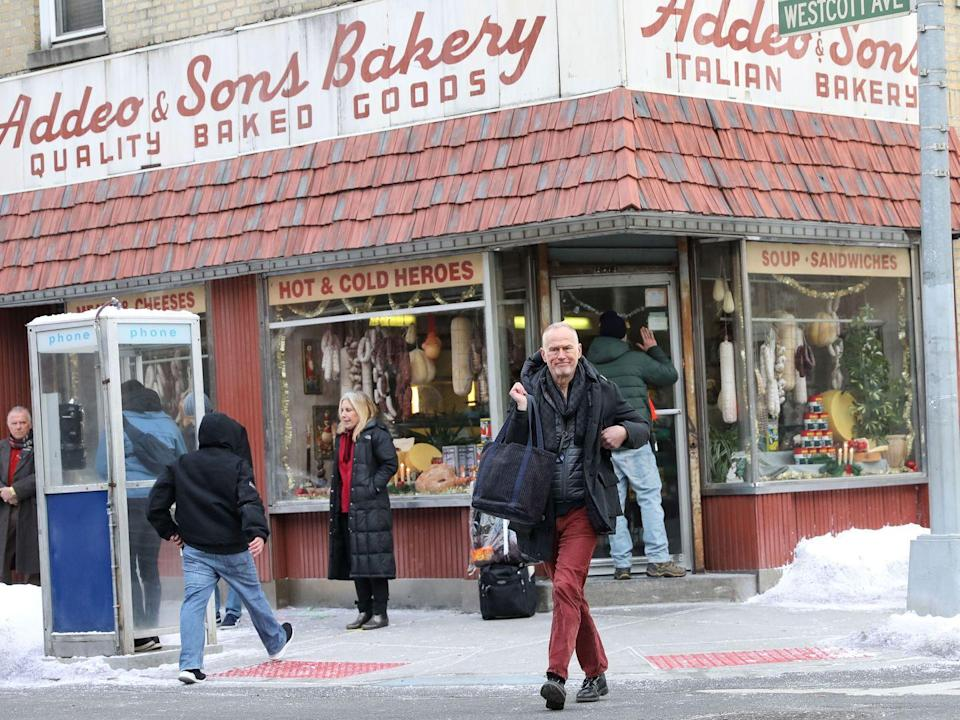 <p>Alan Taylor is seen on the movie set of <em>The Many Saints of Newark </em>on March 12, 2020 in New York City.</p>