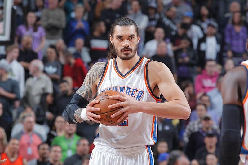 Steven Adams has a brilliant answer for not knowing who his Oklahoma City  Thunder teammates are 2a54acf36