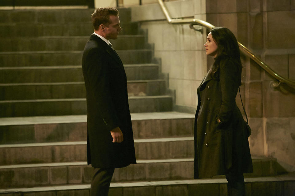 Meghan and Gabriel worked on 'Suits' together for 7 seasons as Harvey Spector and Rachel Zane. Source: Getty