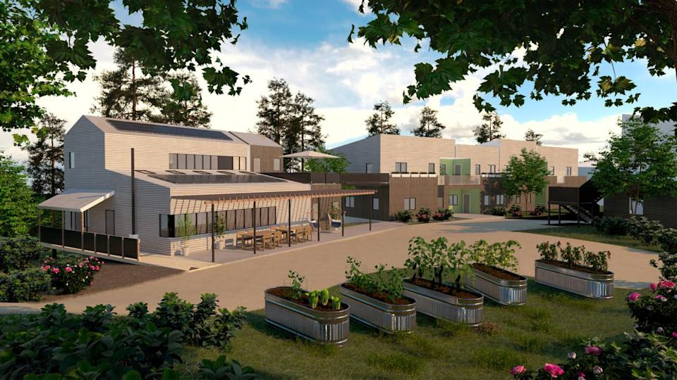 Atlantic Canada will soon have its first sustainable co-housing community