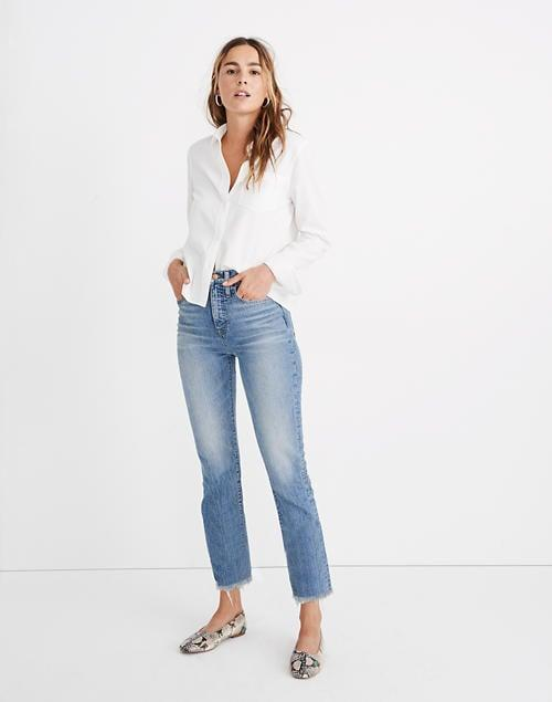 <p>The <span>Madewell Perfect Vintage Jean</span> ($128) is a bestseller, and for good reason. It looks good on so many people.</p>