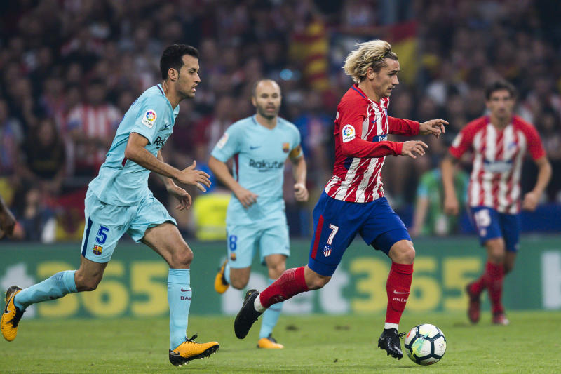 93b32267f5d1 Antoine Griezmann  Atletico Madrid files complaint over Barcelona pursuit