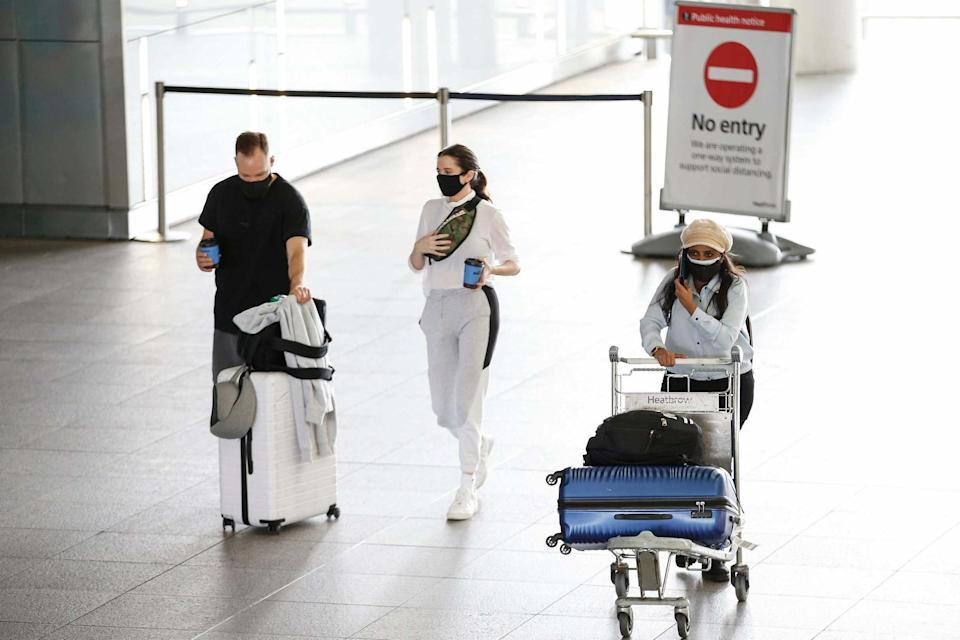 Passengers return to Heathrow airport (Getty Images)