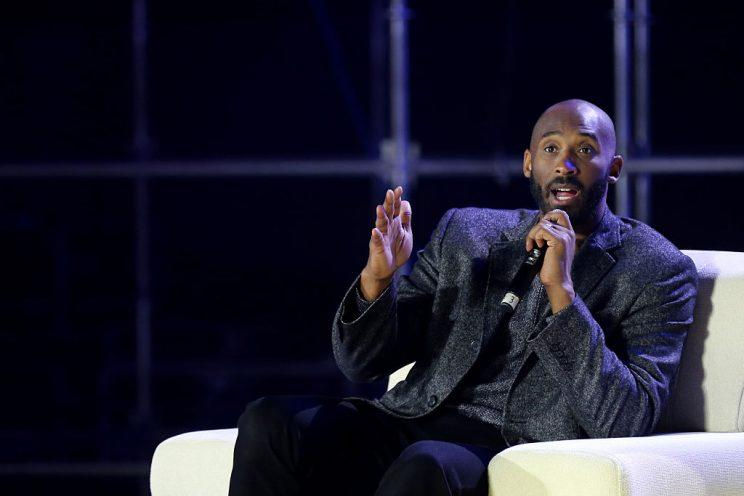 Los Angeles Lakers legend Kobe Bryant spoke in favor of an MMA fighters union during the UFC Athlete Retreat. (Getty)