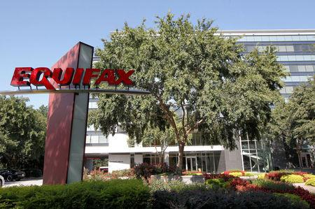 FILE PHOTO: Credit reporting company Equifax  Inc. corporate offices are pictured in Atlanta, Georgia, U.S., September 8, 2017.  REUTERS/Tami Chappell
