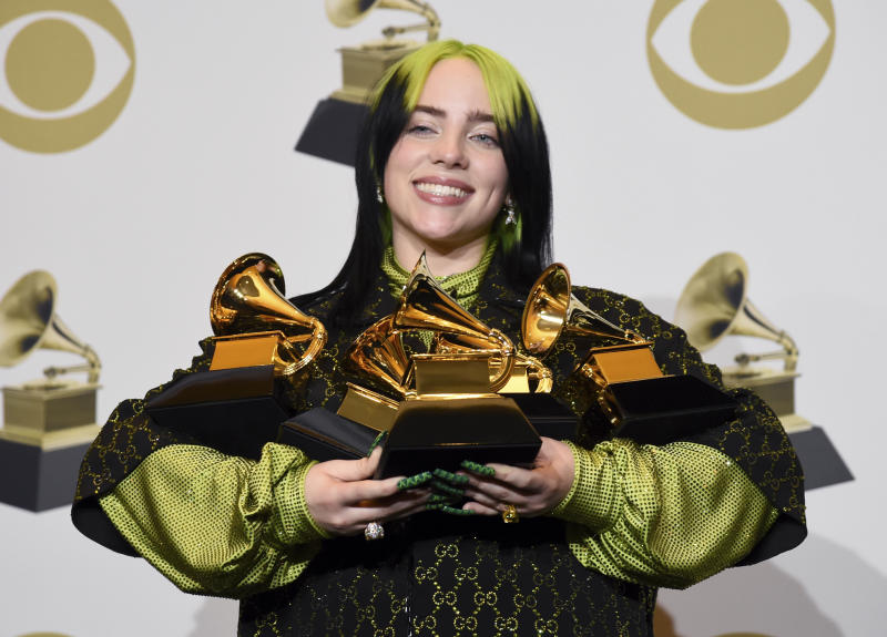 Billie Eilish has received a backlash over her comments. (AP Photo/Chris Pizzello)