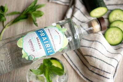 Infused with all natural flavors, each bottle boasts hints of sweet citrus and cool, refreshing mint with an exceptionally smooth finish and crisp aroma of cucumber and juniper.