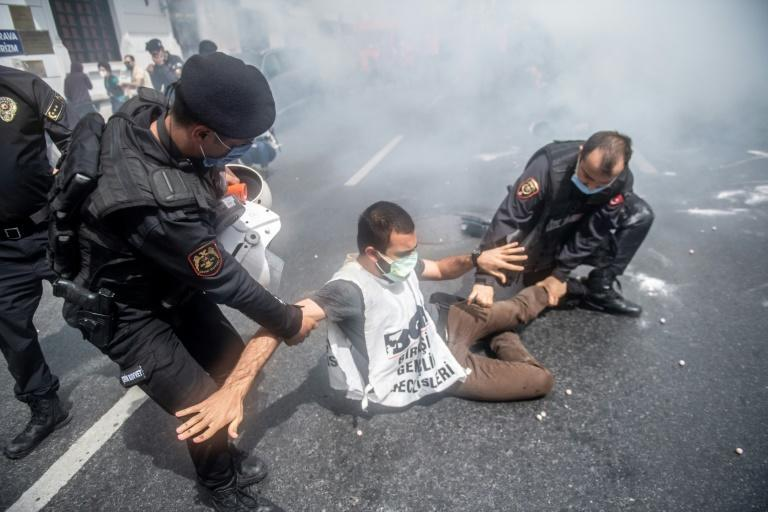 There are often detentions in Turkey during the annual May 1 workers' holiday